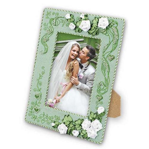 1355АС Набор для рукоделия Riolis рамка для фотографии 'С Любовью', 15*21 см