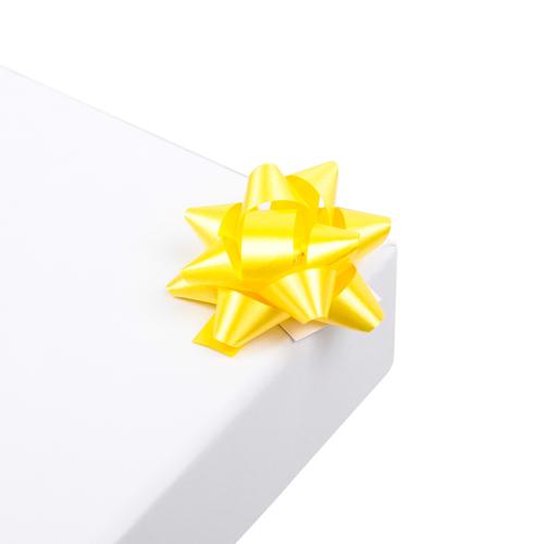2951974 Бант-звезда №3,5 упак/8шт, желтый