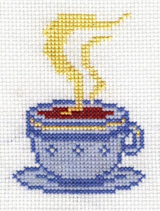 5026 Набор для вышивания'Чай' 9х10 см