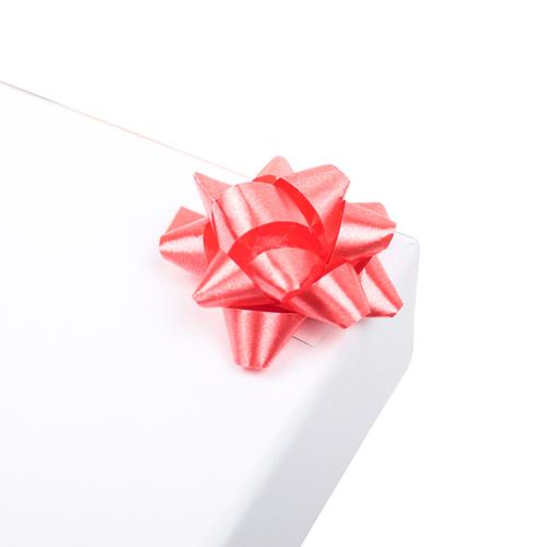 2951977 Бант-звезда №3,5 упак/8шт, красный