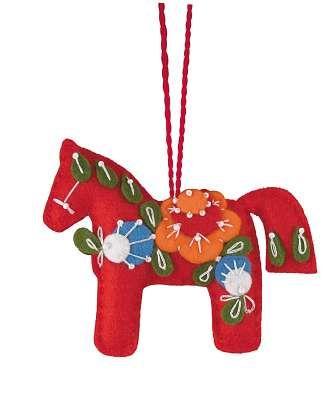 1379АС Набор для рукоделия Riolis 'Красный конь', 10*8 см