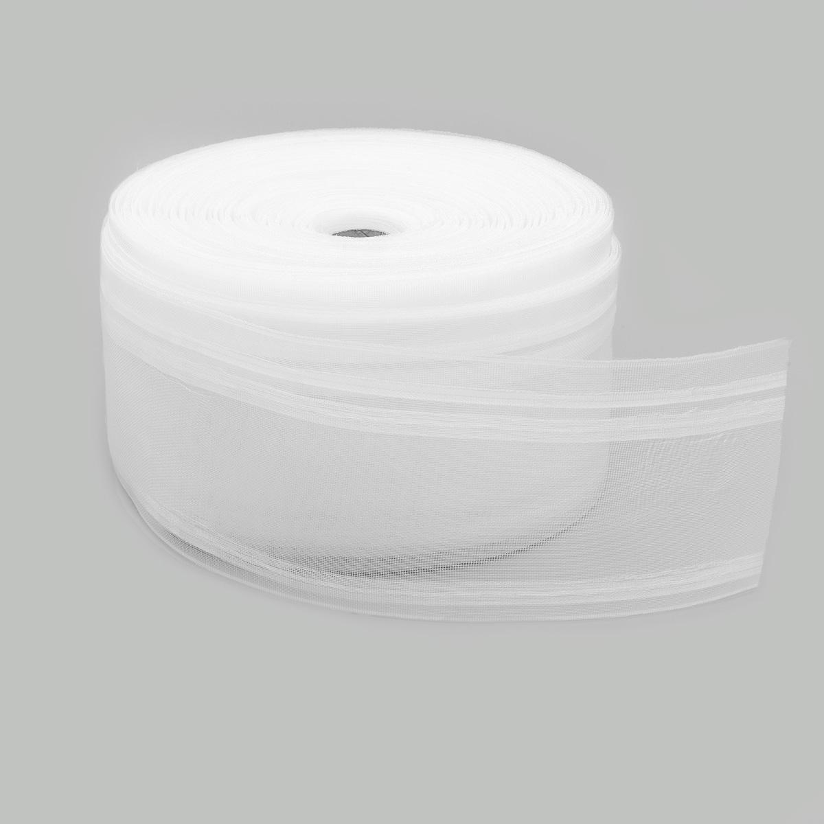 1088-О Тесьма шторная органза с эффектом люверсов 100мм*50м