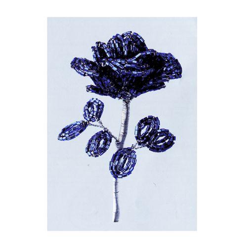 БП-2 Набор для бисероплетения 'Чарiвна Мить' 'Синяя роза', 24*8 см