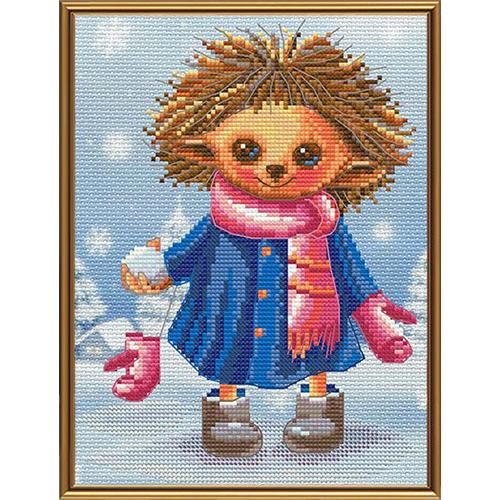 СВ5544 Набор для вышивания 'Нова Слобода' 'Снежки', 15x20 см