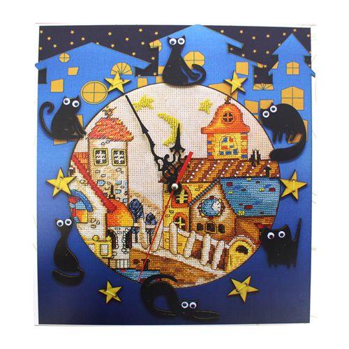 РТ6513 Набор для вышивания 'Нова Слобода' 'Кошкин дом', 27x29 см