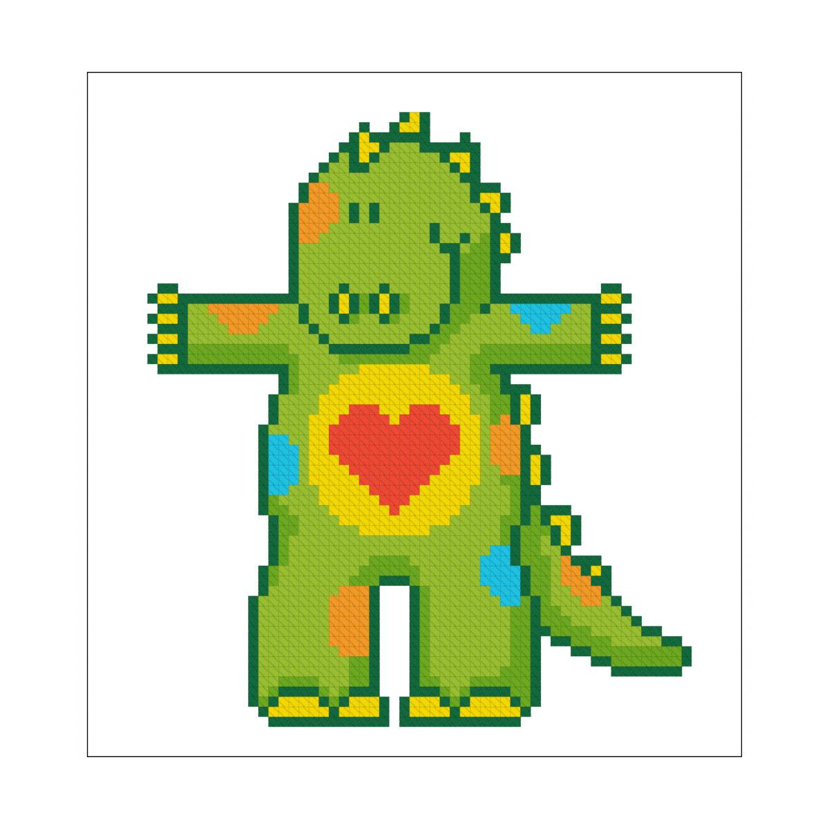 4048 Набор для вышивания 'Дракоша' 12х12 см
