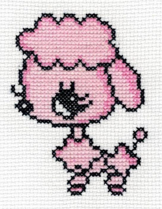 5038 Набор для вышивания'Джени' 8х10 см