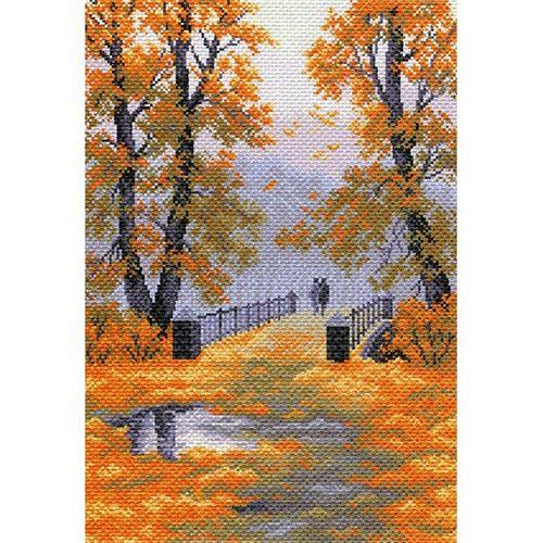 1565 Набор для вышивания 'Матренин Посад' 'Осень в парке', 37*49 см