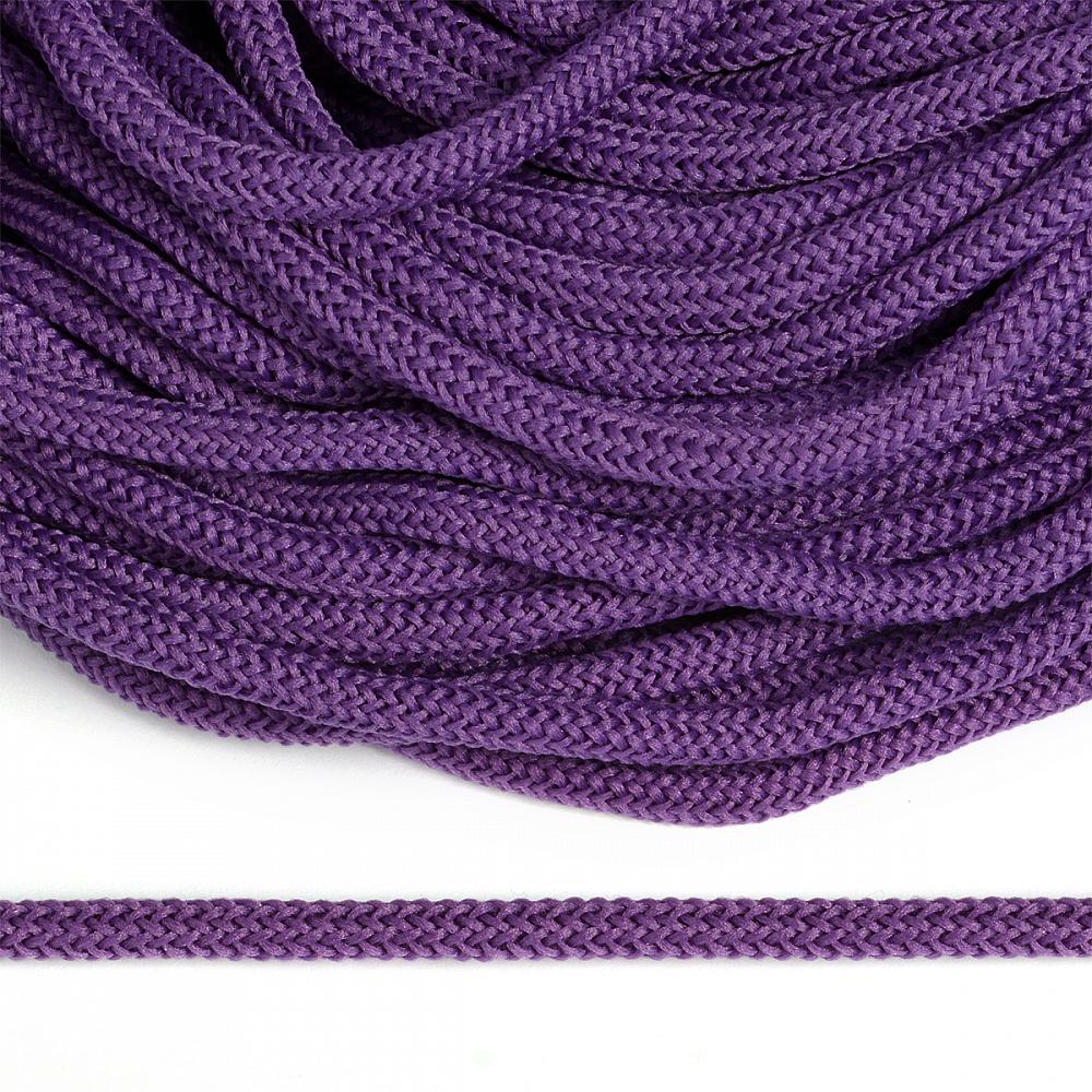 Шнур круглый полиэфир 04мм арт. 1с-36 цв.047 фиолетовый уп.200м, 121С3647ФИОЛЕТ