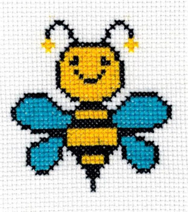 5010 Набор для вышивания'Пчёлка' 7х8 см
