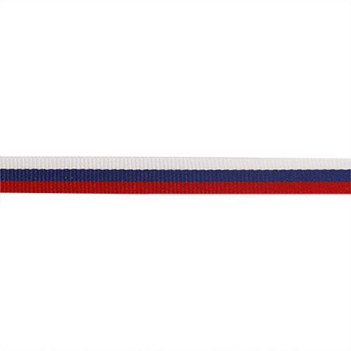 0111-0949S Лента триколор, 10 мм*25 м