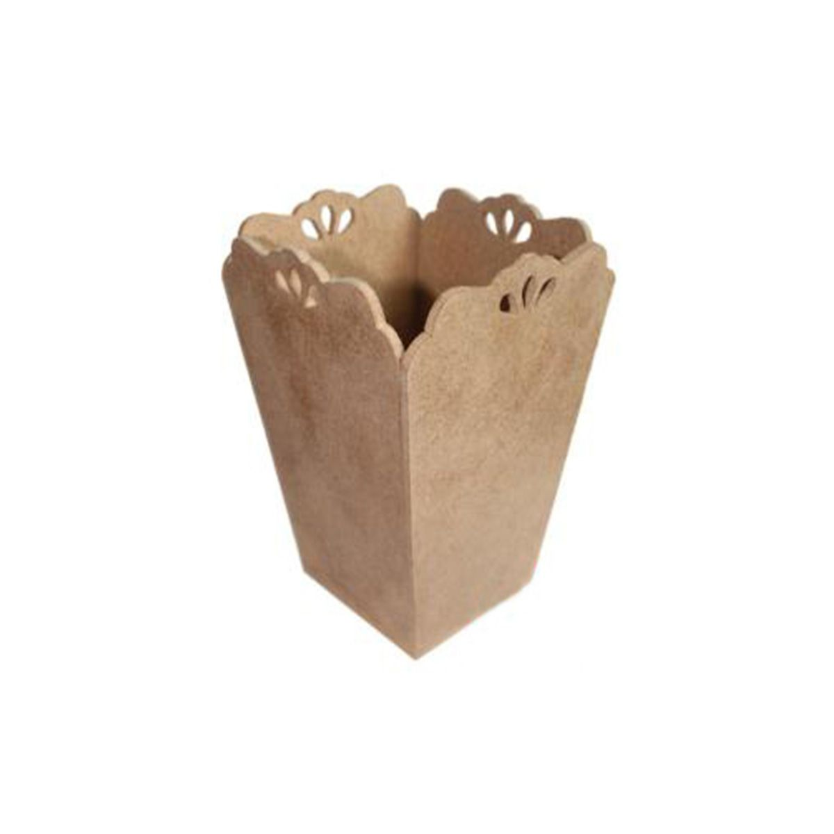 AH6140139 Заготовка из МДФ 'Кашпо-ваза с капельками', 21х15х17 см