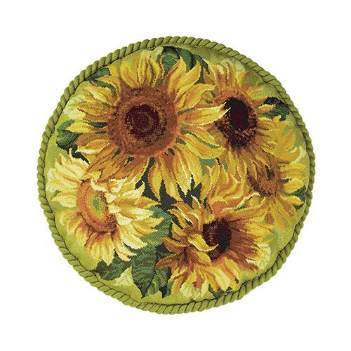 1530 Набор для вышивания Riolis подушка 'Подсолнухи', 45*45 см
