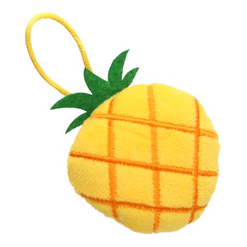 3604518 Игольница с петлей ананас 6,5*7,5*3см жёлтый