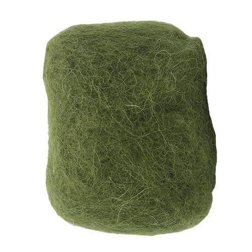 2553015 Шерсть для валяния, зеленый, 30 гр. Glorex