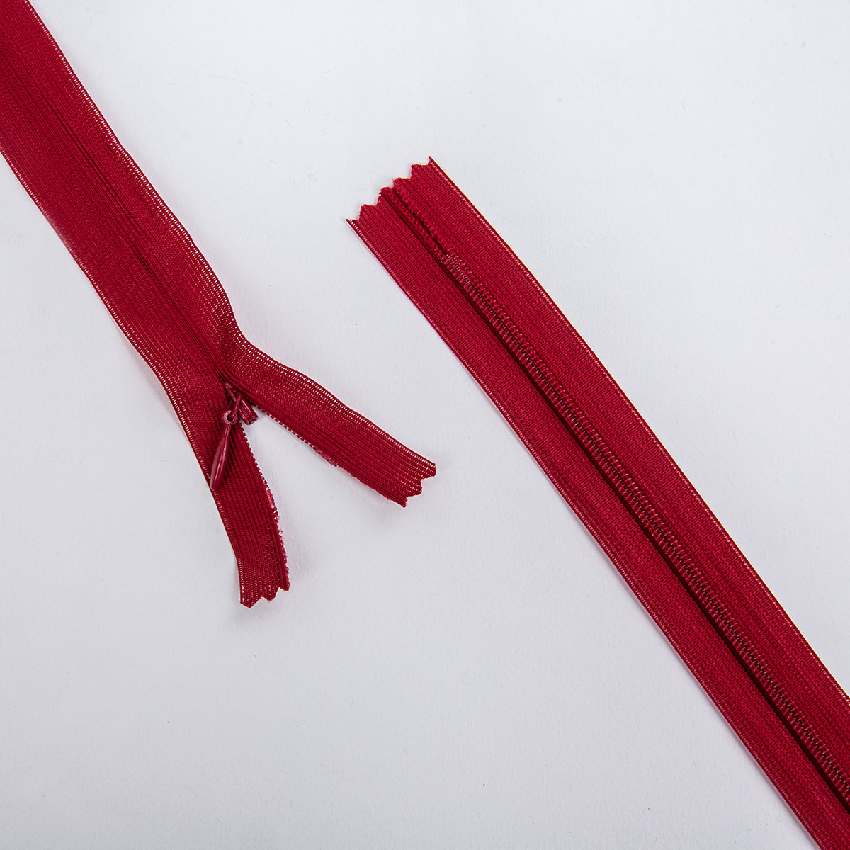Молния потайная, бордовый, 50см, 31291/50