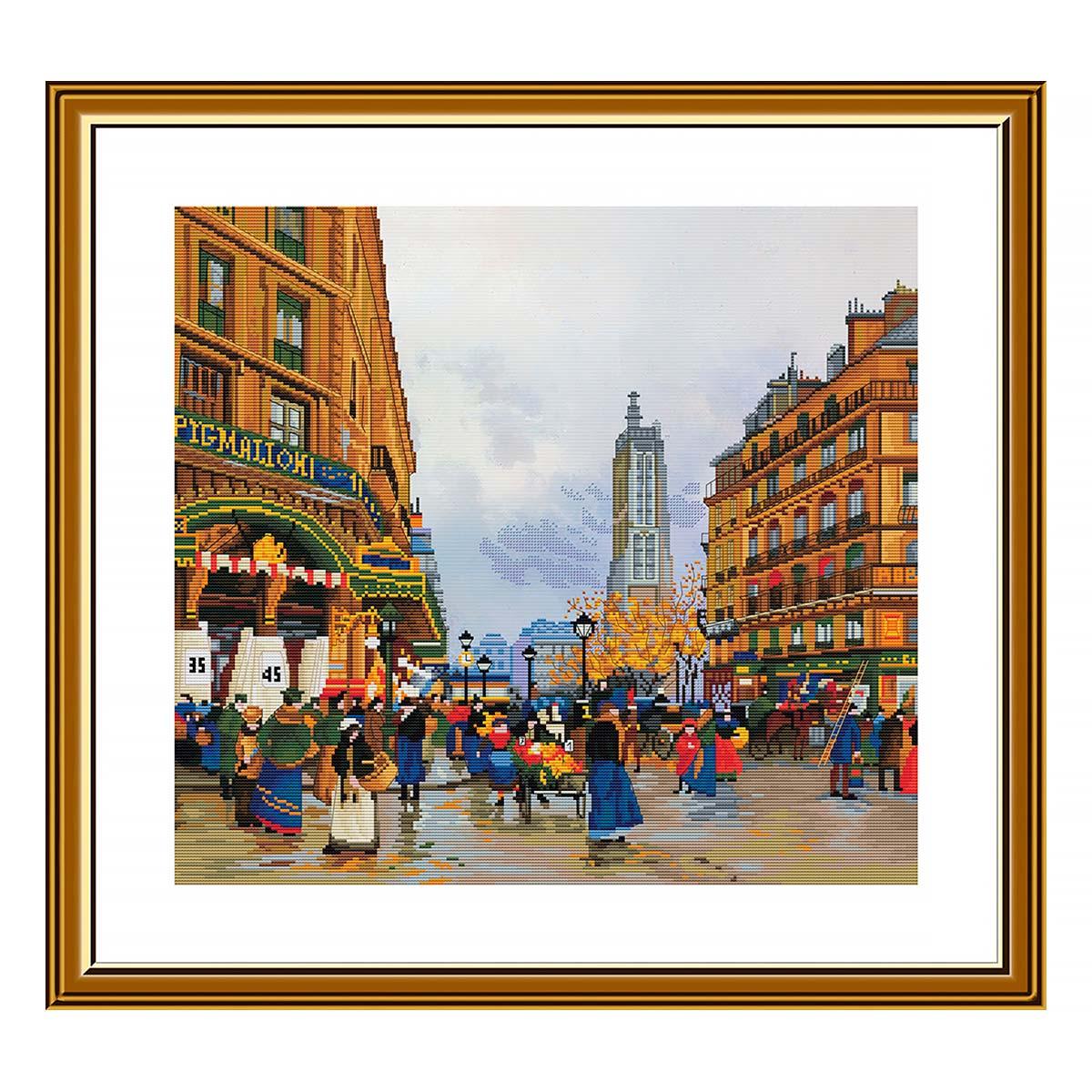 СР4240 Набор для вышивания 'Легенды Парижа Сен-Жак' 39*35 см