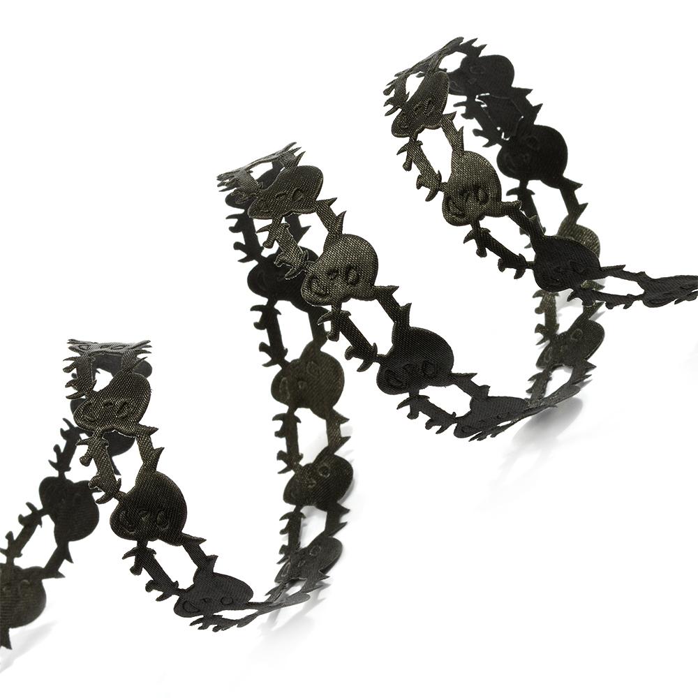 Лента декоративная фигурная арт.TBY.LDF072 шир.15мм уп.10м, TBYLDF072