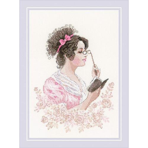 1792 Набор для вышивания Риолис 'Книжный клуб' 21*30см