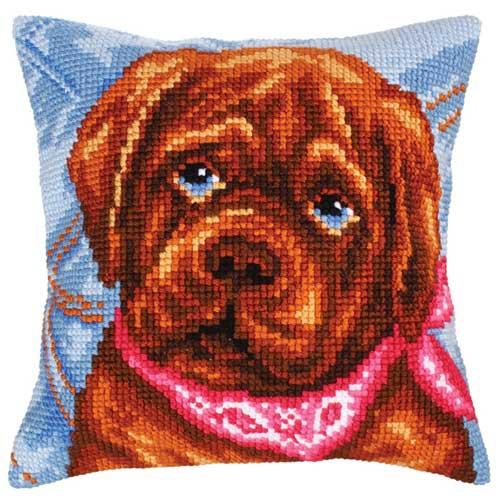 CdA-5210 Collection D'Art Набор для вышивания подушка 40х40 см