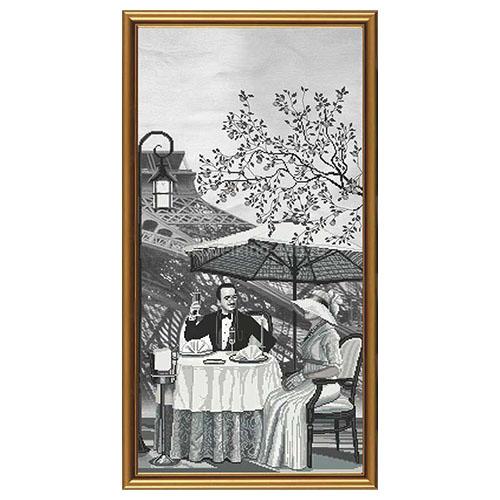 AC6010 Набор для вышивания 'Нова Слобода' 'Париж - город любви. Зрелость', 30х60 см