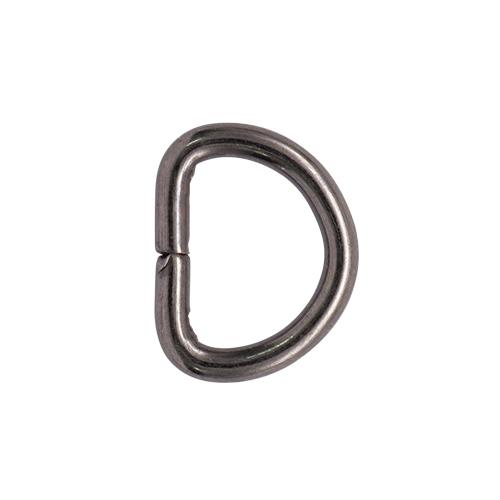 Полукольцо, никель, 10 мм