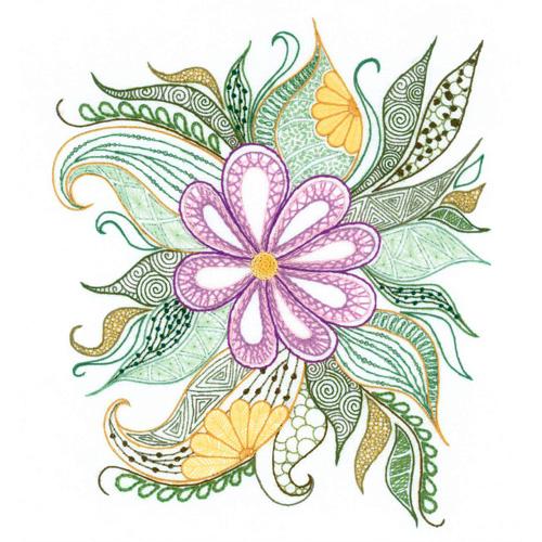 1588 Набор для вышивания Риолис 'Прекрасный цветок' 21*30 см