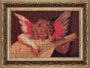 №429 Набор для вышивания Чаривна Мить 'Ангелочек', 26x38см