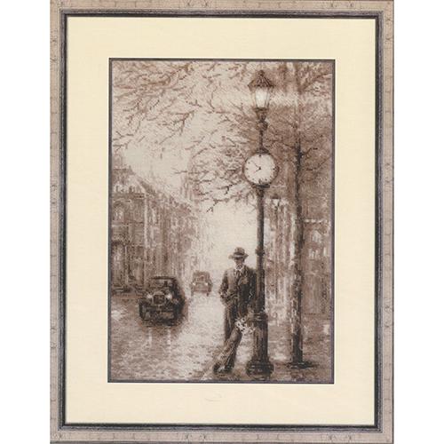 1611 Набор для вышивания Риолис 'Старая фотография. Ожидание' 26*38 см