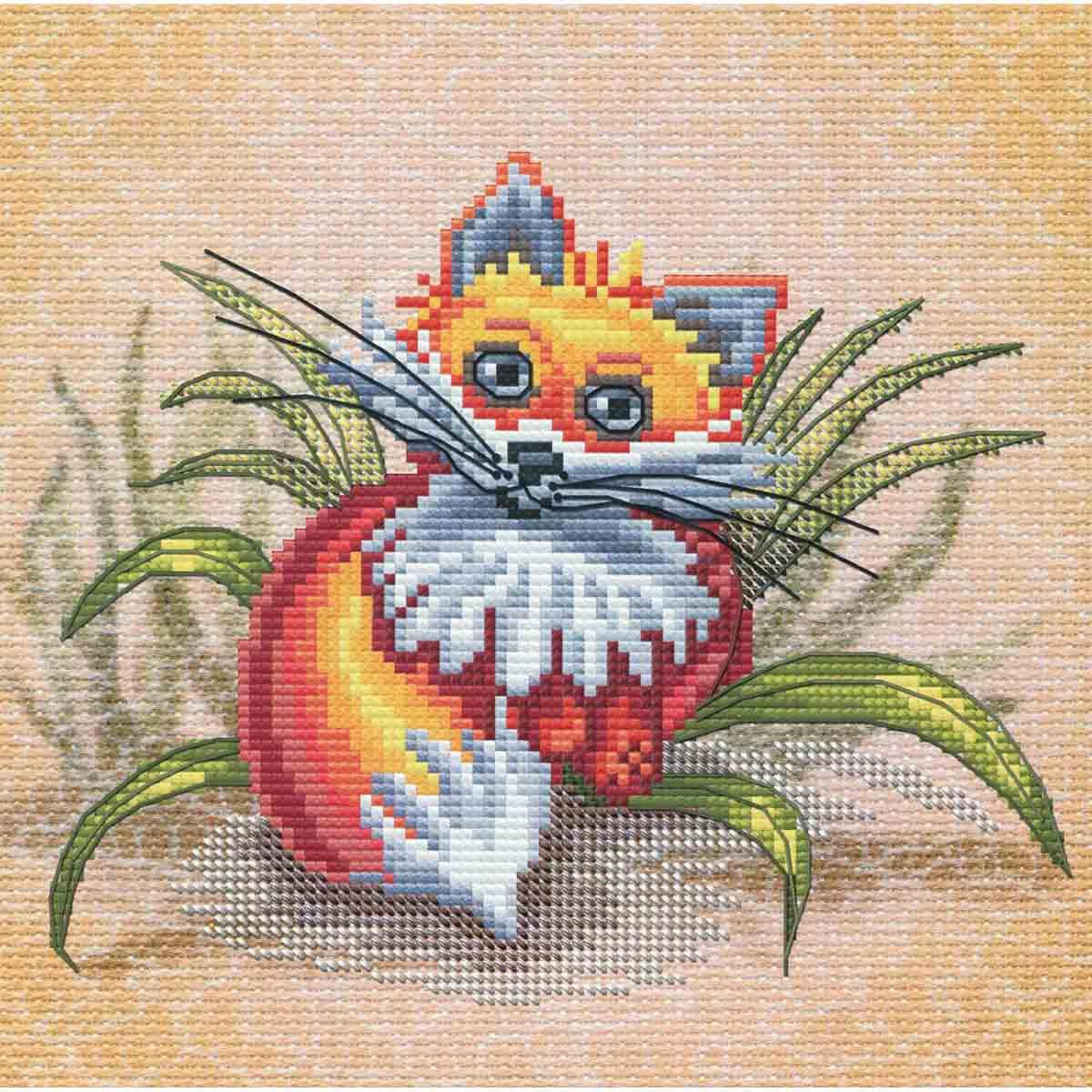 СВ5556 Набор для вышивания 'Рыжик' 18х18см