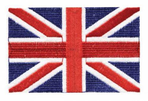 Термоаппликация LM-80359, 'Английский флаг', 6шт (0411-0817)