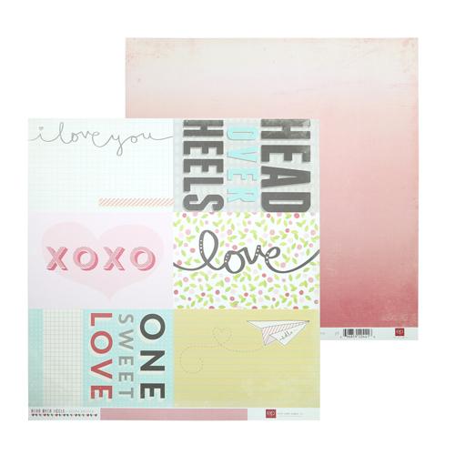 HOH59010 Бумага 30*30 см Journaling Cards