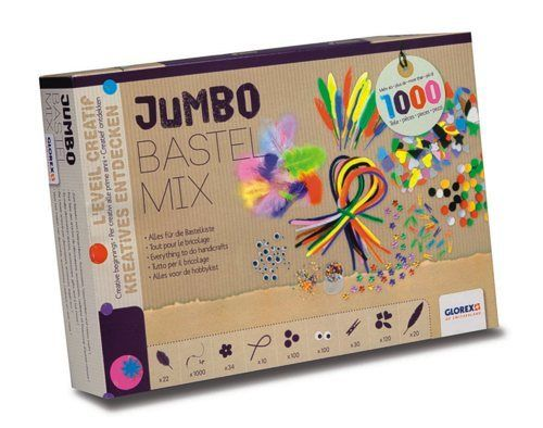 61214072 Набор Jumbo Bastel Mix Glorex