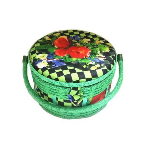 14221 Шкатулка декоративная 'Букет', 24*24*14 см