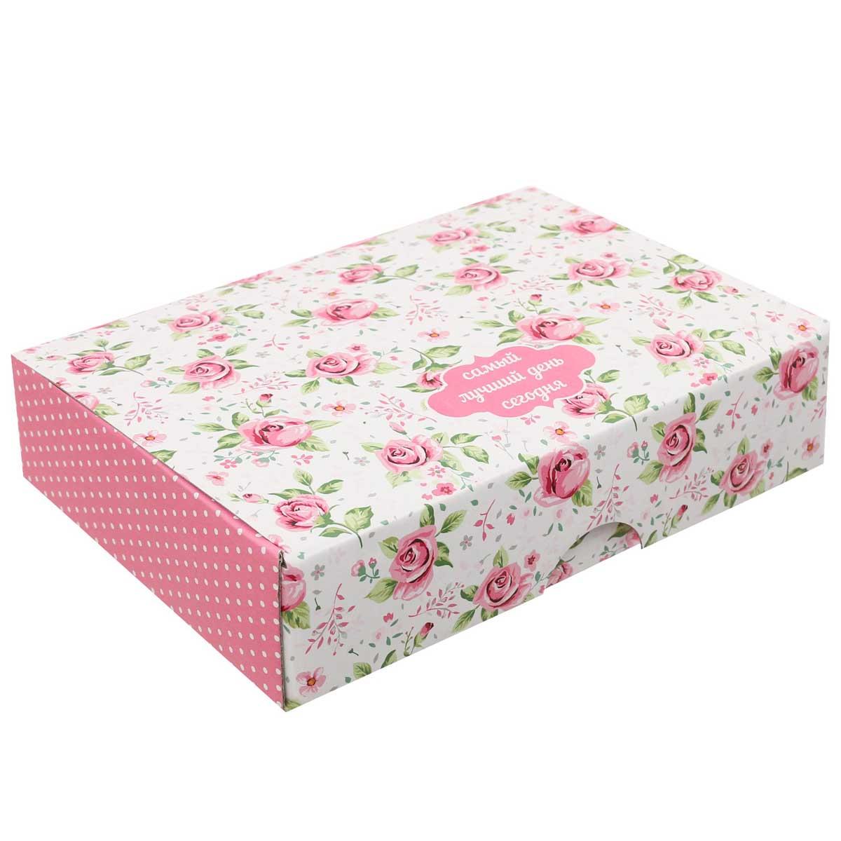 3009201 Складная коробка «Самый лучший день», 21*15*5 см
