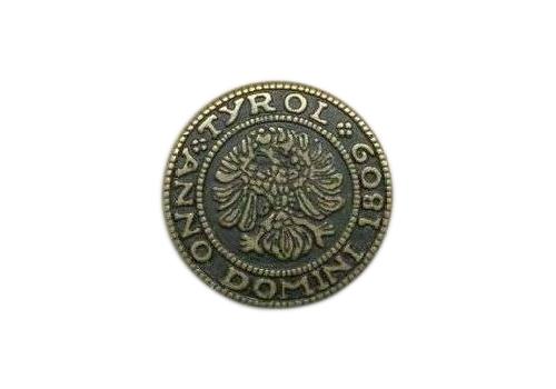 64302 Кнопка 5/20мм. лат. 'Герб'