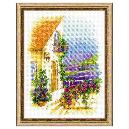 1689 Набор для вышивания Риолис 'Прованская улочка' 18*24 см