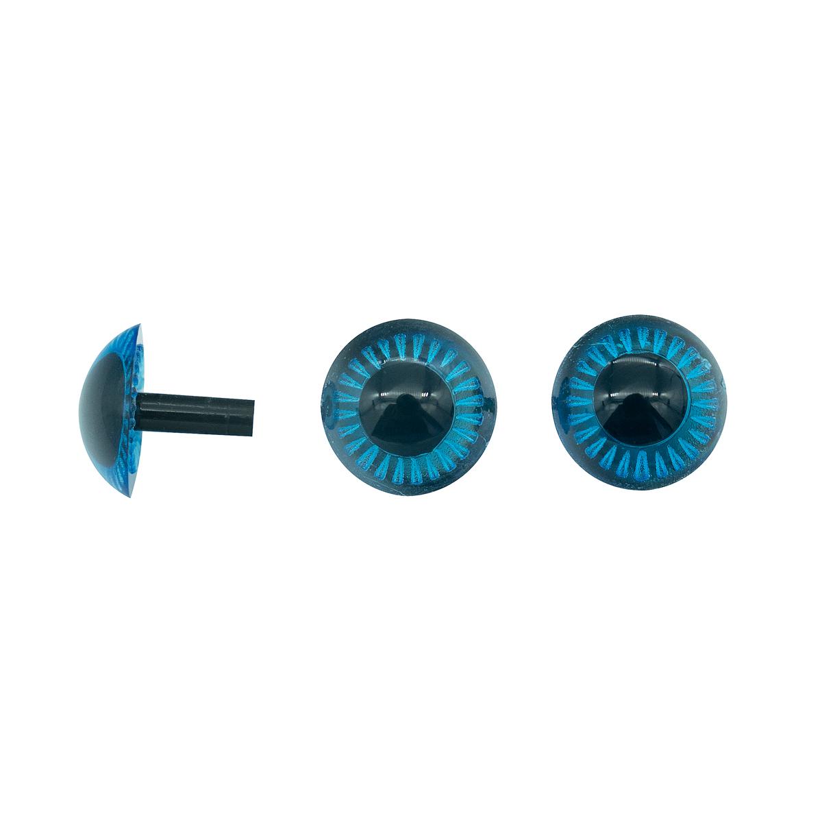 Глаза для игрушек Д-13мм пластик.