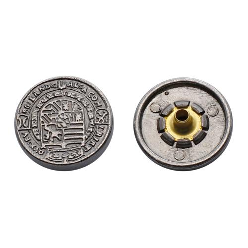 64484 Кнопка 5/17мм. ч.ник. 'Печать'