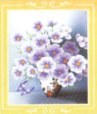 1108 Мозаика Cristal 'Незабудки', 45*60 см