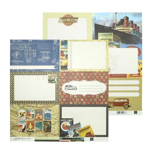 PFG9001 Бумага 30*30 см Blueprint