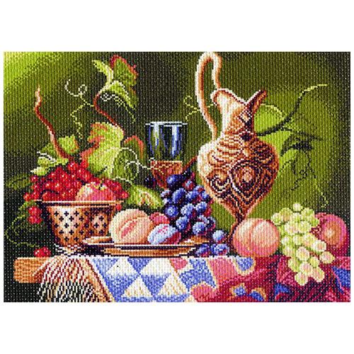1137 Канва с рисунком 'Матренин посад' 'Дары Востока', 37*49 см