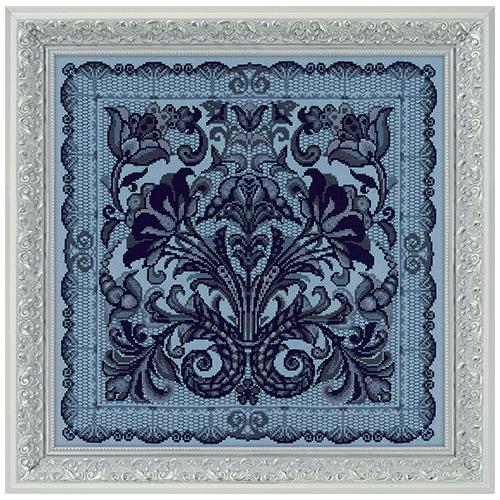 1700 Набор для вышивания Риолис 'Подушка/панно 'Испанское кружево' 40*40 см