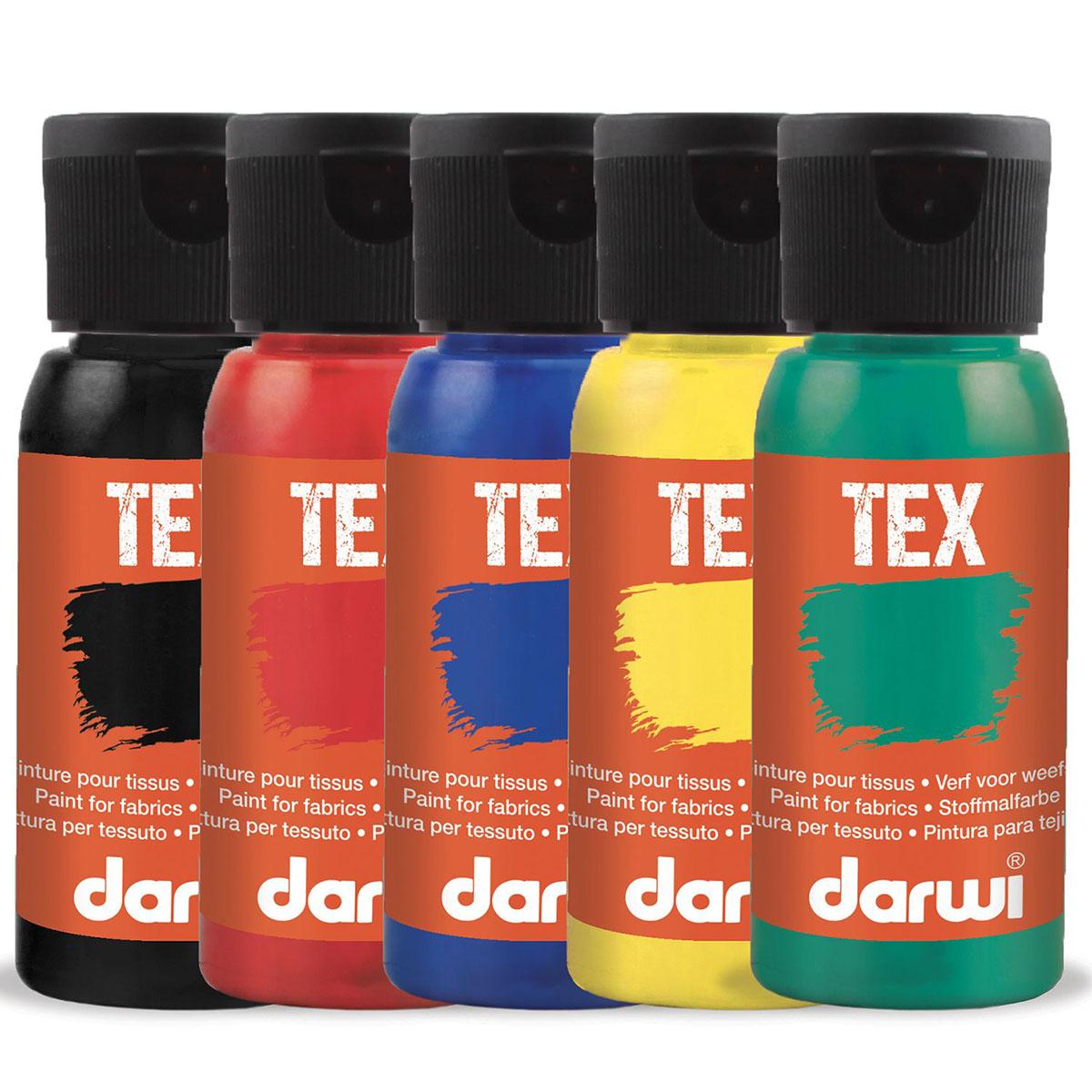 DA0100050 Краска для ткани Darwi TEX, 50 мл