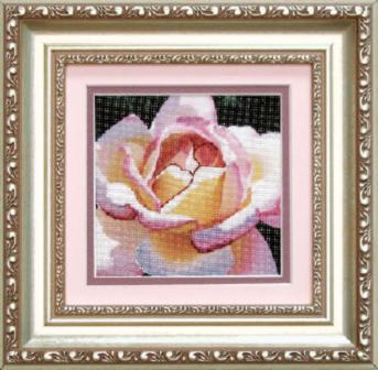 РК-033 Набор для вышивания Чаривна Мить 'Роза', 11,5x11,5см