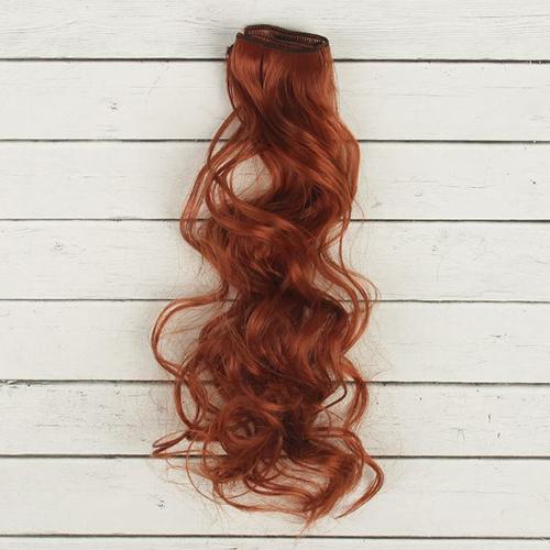 2294351 Трессы для кукол 'Кудри' длина волос 40 см, ширина 50 см, № 13