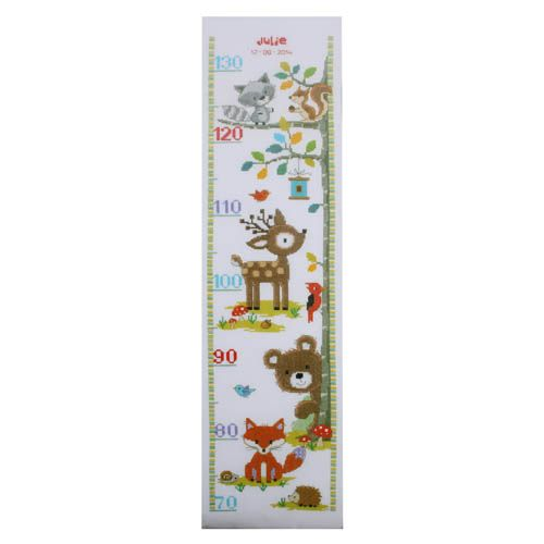 PN-0150183 Набор для вышивания Vervaco 'Лесные животные II' 18x70см