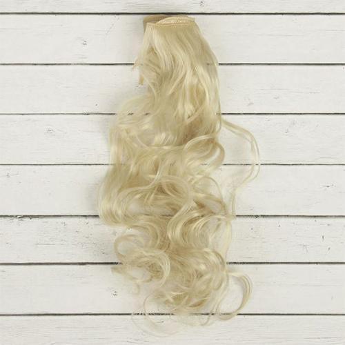 2294342 Волосы - тресс для кукол 'Кудри' длина волос 40 см, ширина 50 см, №88