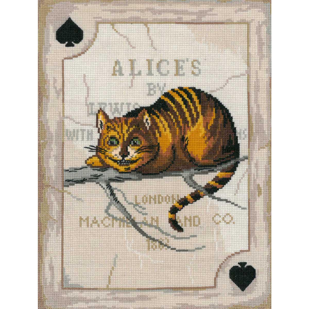 А-0051 NITEX Набор для вышивания 'Чеширский кот' 19х25 см