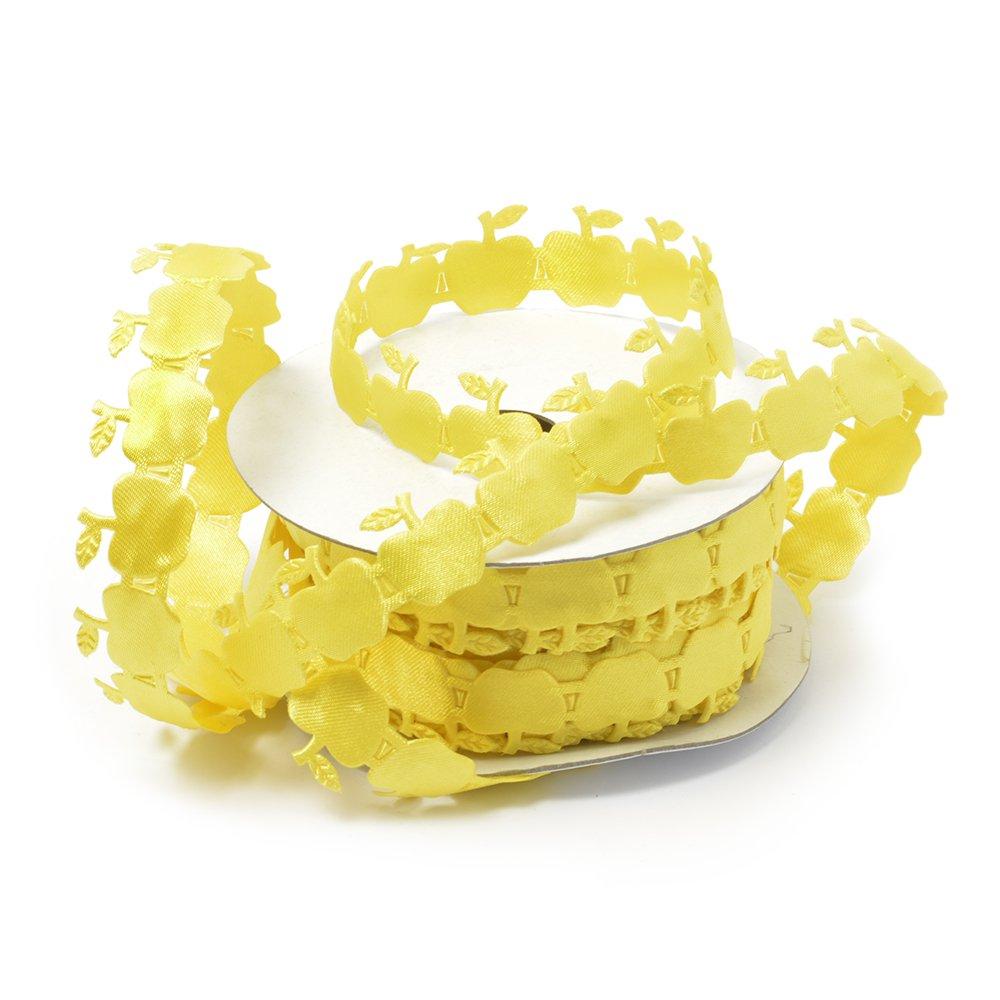 Ленты декоративные арт.TBY.ЛДФ.XL-09.3 шир.15 мм цв.17 желтый уп.9,14 м, TBYЛДФXL093